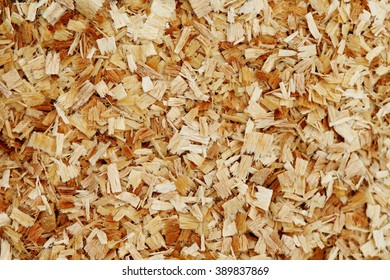 sawdust background   close-up, wood  carpentry ,  wood texture