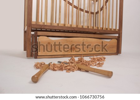 Sawdust furniture Son Sawdust And Wood Tool Isolated For Wooden Furniture Craft Concept Sawdust Wood Tool Isolated Wooden Furniture Stock Photo edit Now