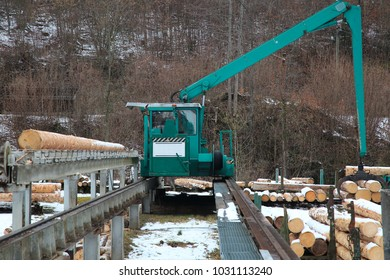 Sawmill, wood production