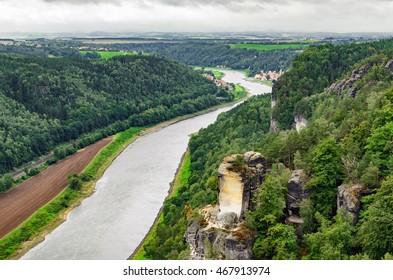 Saxon Switzerland from Bastei
