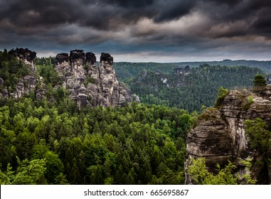 Saxon Switzerland National Park in Germany