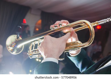 Saxophone in action