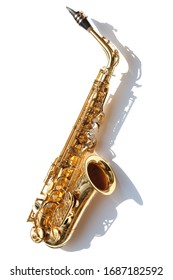 Saxophone, brass saxophone, su, gold sack 			Music background,