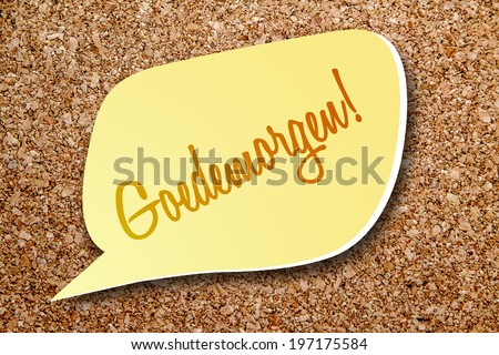 Say Good Morning Dutch Stock Photo Edit Now 197175584 Shutterstock