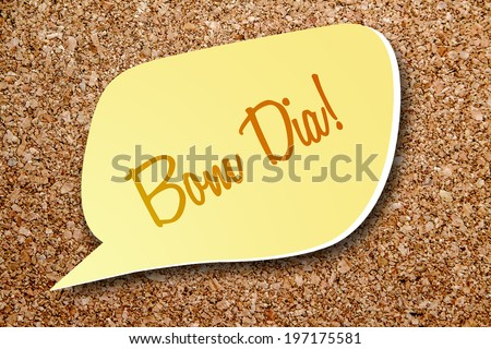 Say Good Morning Portuguese Stock Photo Edit Now 197175581