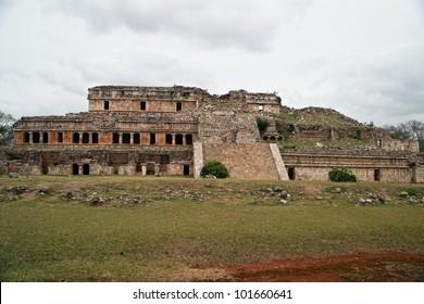 Sayil main palace.