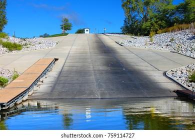 Saylorville Lake Boat Landing Iowa