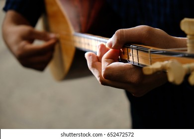 Saz-Turkis musical instrument