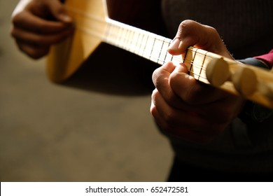 Saz-Turkis musical instrument