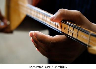 Saz-Turkish musical instrument