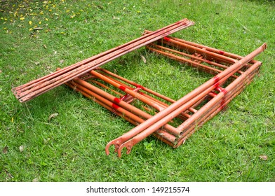 scaffold component set use for construction or other
