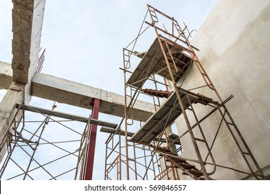 Scaffolding in construction