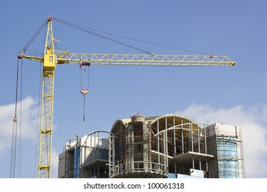 scaffolding, construction site building