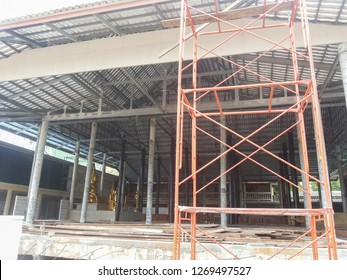 Scaffolding for construction work