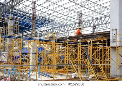 Scaffolding is important to use for building construction ,or Factory.