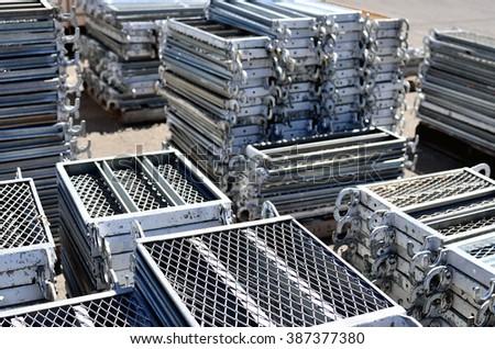 Charmant Scaffolding Materials Storage