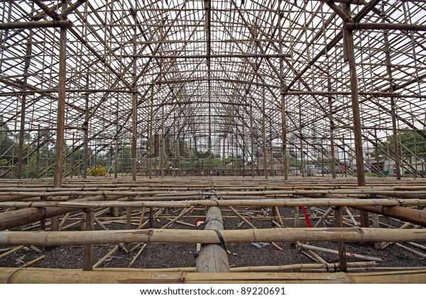 Scaffolding Stage, china bamoo opera building