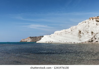 Scala dei Turchi landmark mountain on Sicily