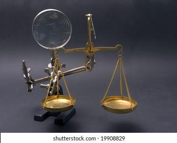 Scale, justice