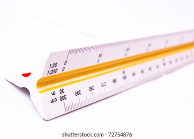 Scale ruler-close up