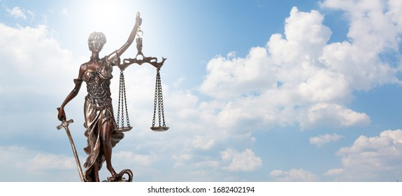 Scales of Justice background - legal law concept