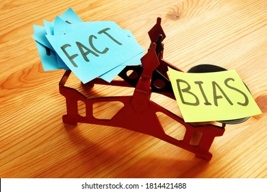 The scales on which lie a lot of facts and bias.