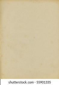 scan of old paper texture background