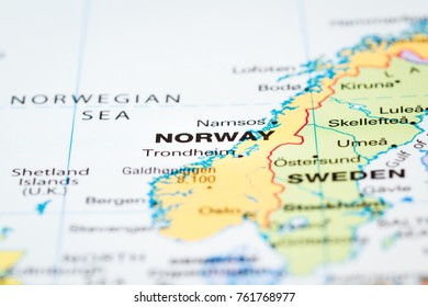 Northern hemisphere map images stock photos vectors shutterstock scandinavia on a world map with norway in focus gumiabroncs Image collections