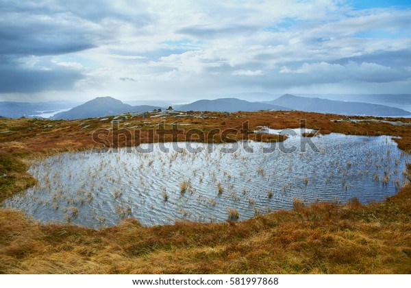 Scandinavian landscape scenery, Norway,