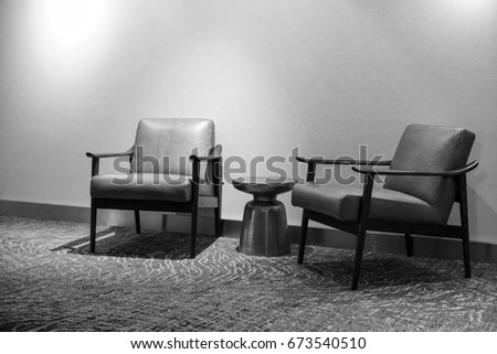 Remarkable Scandinavian Mid Century Modern Wood Leather Stock Photo Pdpeps Interior Chair Design Pdpepsorg