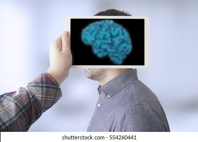 scanning brain with tablet pc