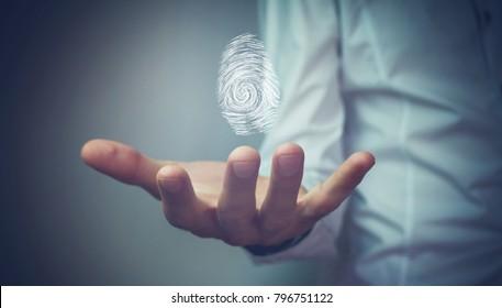 Scanning fingerprint ..
