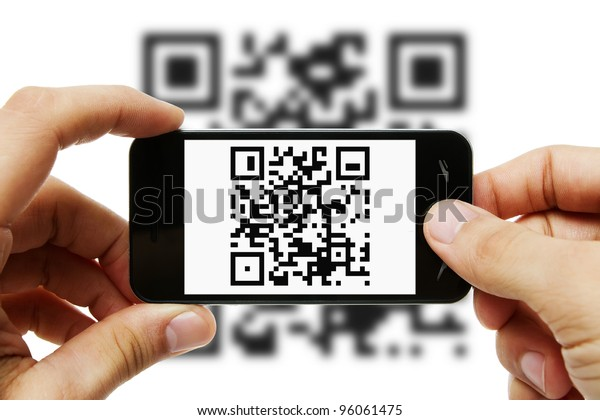 Scanning QR code with mobile smart phone