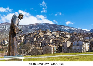 Scanno (Abruzzo, Italy) - The medieval village of Scanno, plunged over a thousand meters in the mountain range of the Abruzzi Apennines, the province of L'Aquila