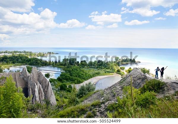Scarborough Bluffs of Toronto