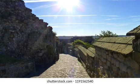Scarborough Castle - The Road