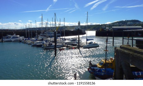 Scarborough Harbour, Yorkshire - Late Summer Sun