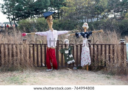 Scarecrow family