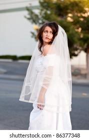 Scared bride