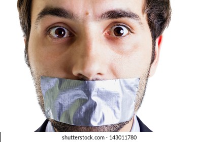 Duct Tape Mouth Images, Stock Photos & Vectors | Shutterstock