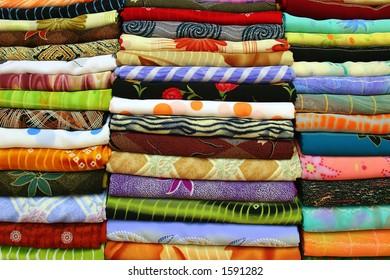 scarfs in the market