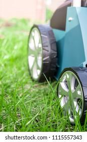 Scarifier Work into the garden
