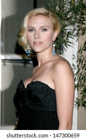 "Scarlett Johansson at the ""Elle"" Hosts the Women in Hollywood 14th Annual Event Four Seasons Hotel Beverly Hills,  CA October 15, 2007"