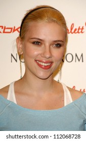 "Scarlett Johansson at an unveiling of her Scarlett ""Hearts"" RBK Collection. Nordstrom at The Grove, Los Angeles, CA. 03-08-07"