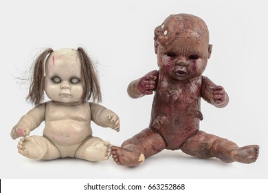 Scary Baby Doll. Starting With, Old Doll