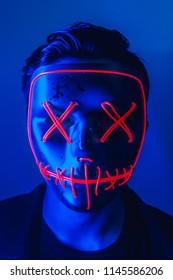 Scary LED Mask