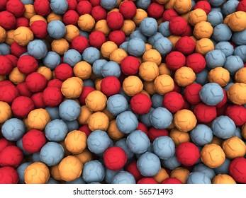 Scattered Love Balls