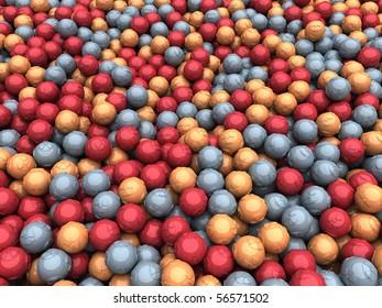 Scattered Radiation Balls