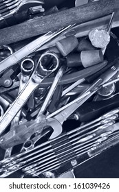 Scattered tools