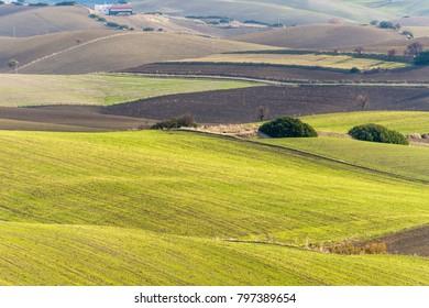 Scenarios of the Basilicata countryside